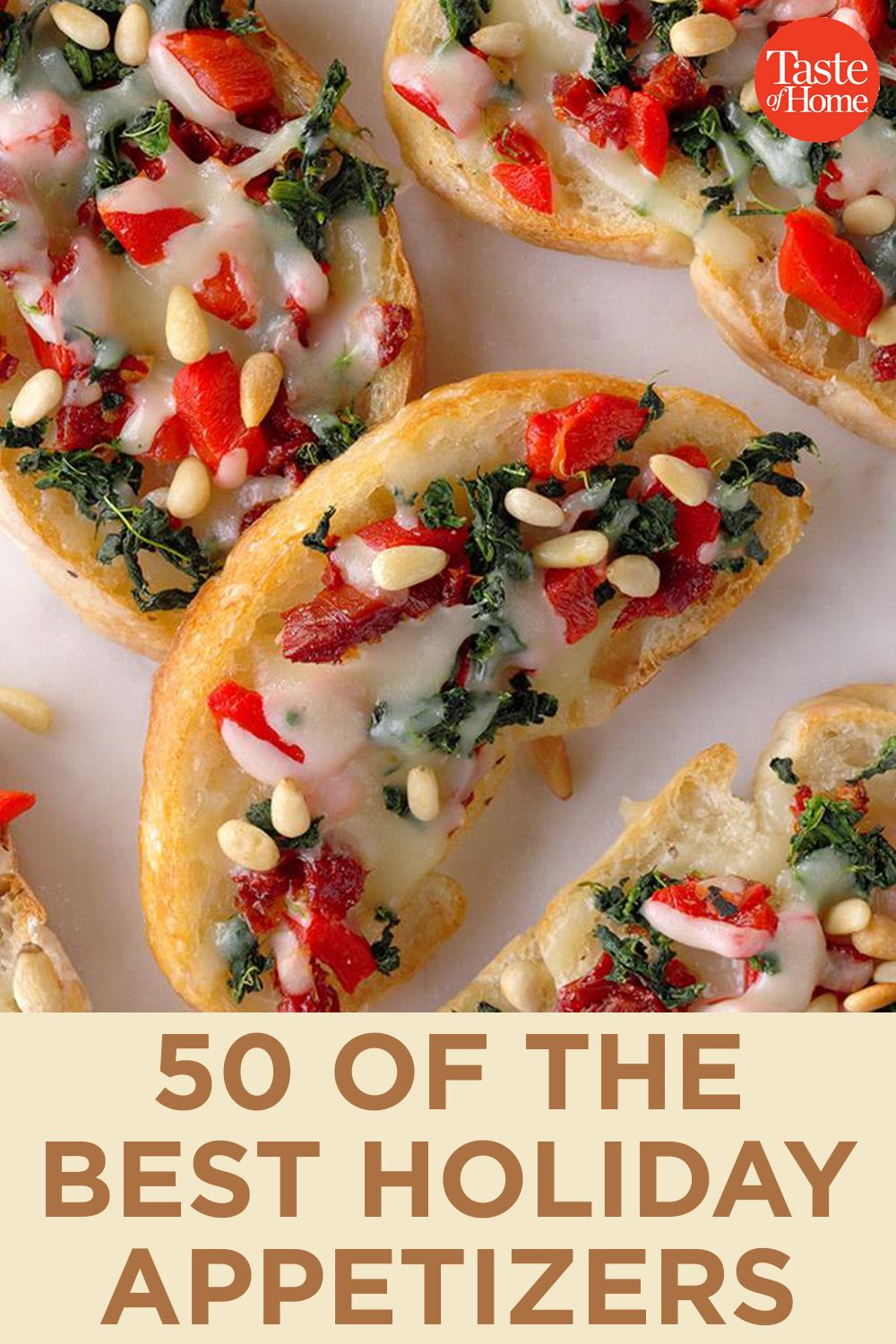 50 of the Best Holiday Appetizers