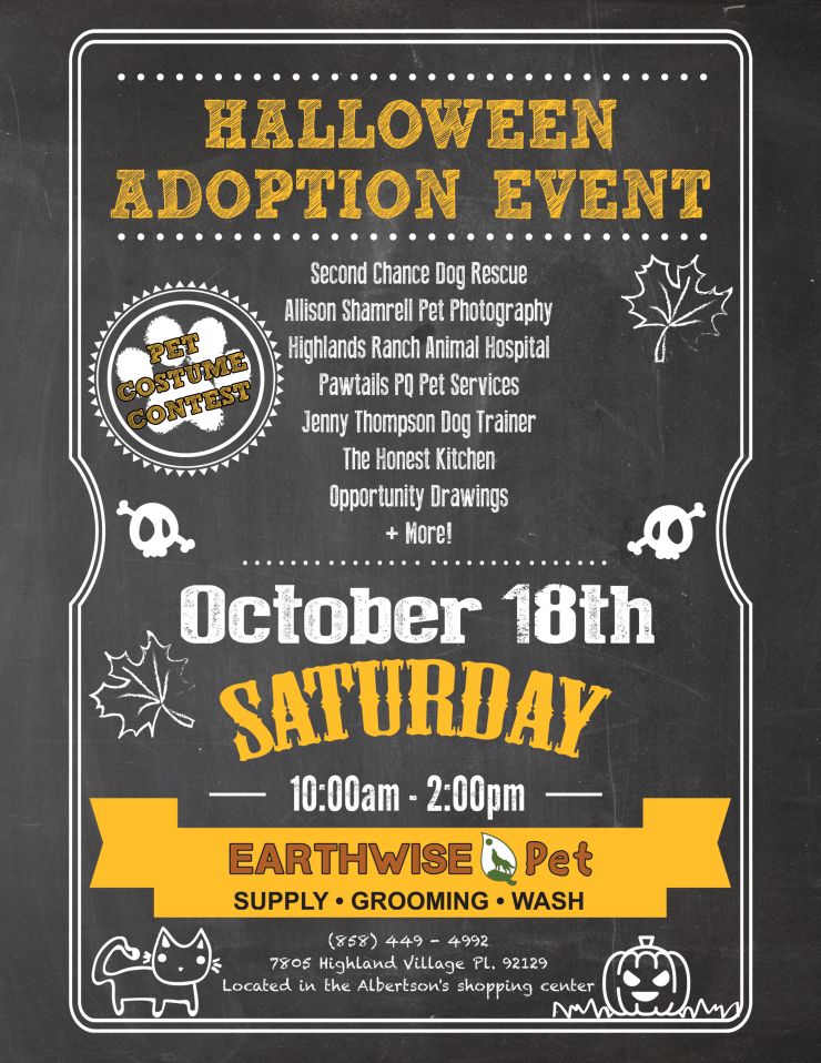 Earthwise Pet Supply Hosts Halloween Party And Adoption Event For