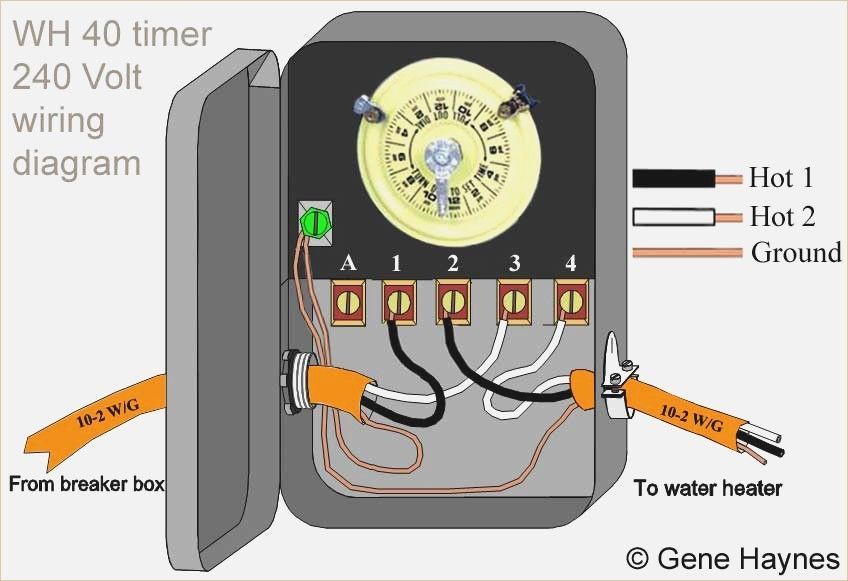 Wiring Diagram Water Heater