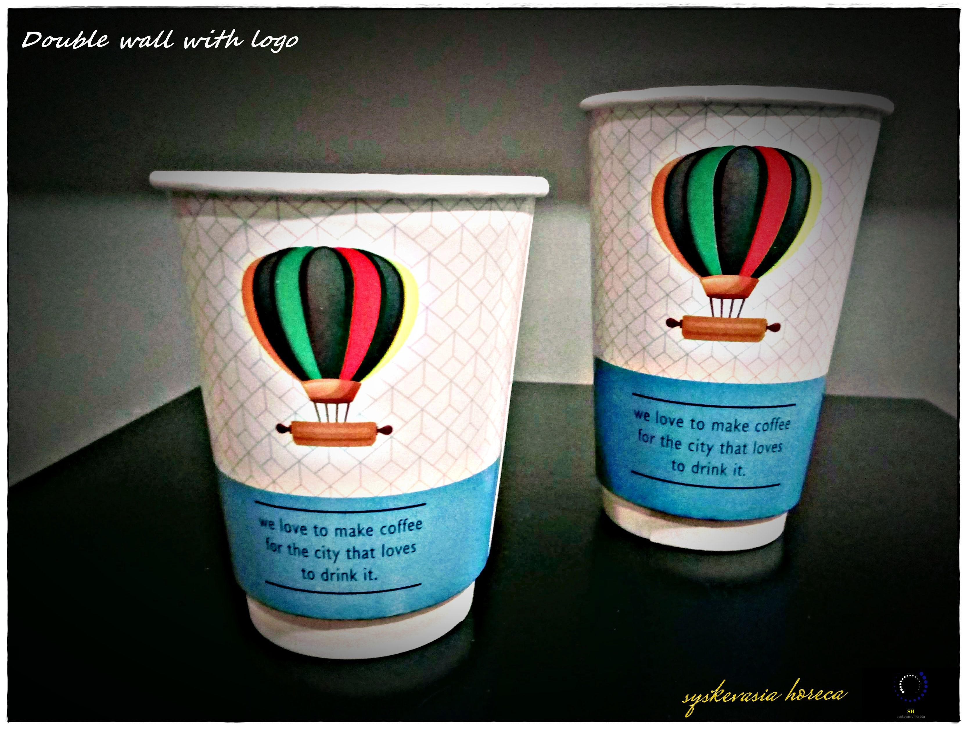 Double Wall Paper Cups With Logo 12oz 16oz Stamatioy Giannhs Mail Ioannistamatiou Gmail Com Www Facebook Com Yiannistama Paper Cup Double Walled Glassware