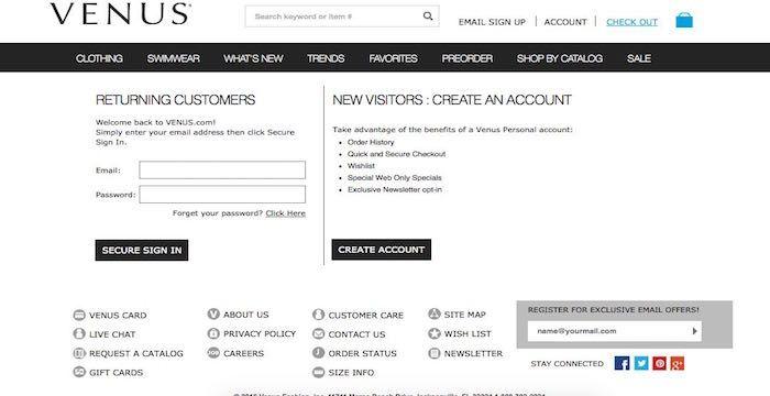 Venus Online Payment