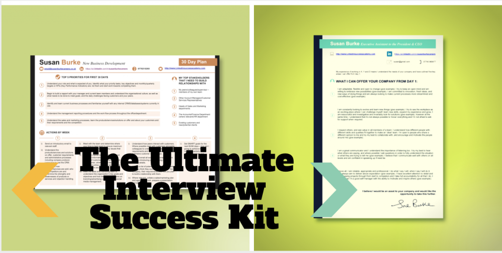 *Ultimate Interview Toolkit* CV Store LinkedIn Success