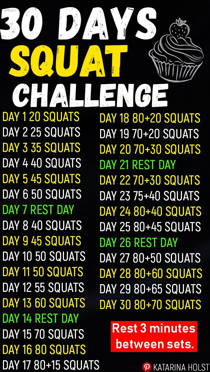 30 Days Squat Challenge -   10 diet Before And After squats ideas