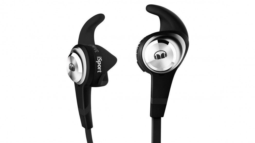 Monster iSport Strive In Ear Headphones - Black