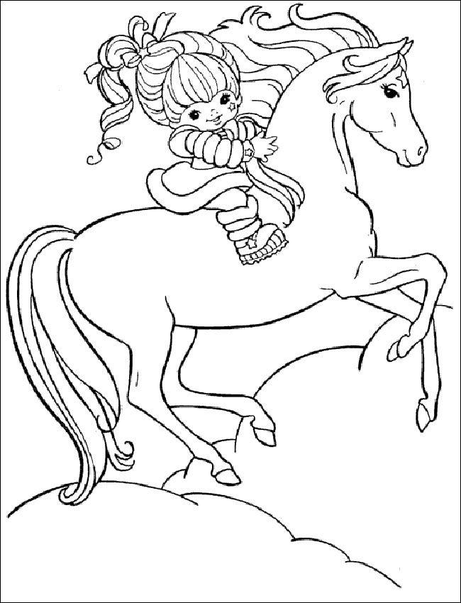 pferde ausmalbilder online