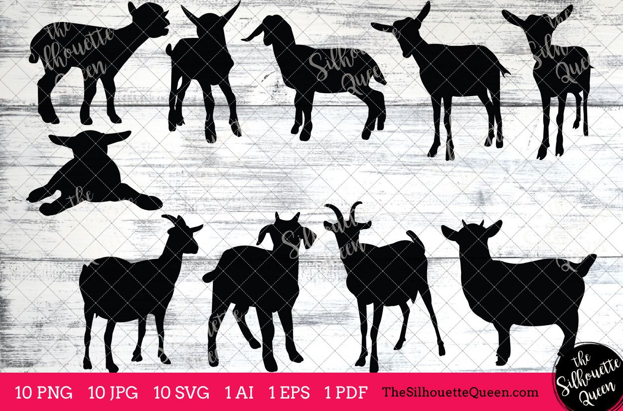 Download Goat Svg Goat Monogram Goat Svg File Goat Cuttable Goat Etsy Silhouette Art Silhouette Pictures Art Clipart