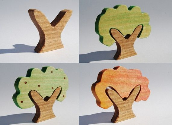 4 Seasons Wood Projects Wooden Tree Wood Toys Wooden Toys