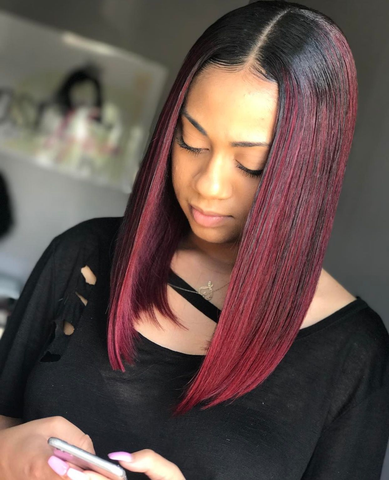 hair styles with extensions pin tillagd av p 229 hair slayed inspiration 8385