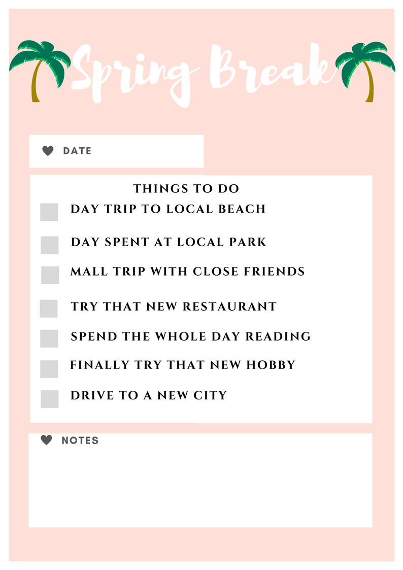 spring,break,tips,advice,things,to,do,2018,staycation,stay,at,home