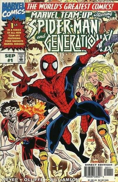 marvel team up | Marvel Team-Up Comic Books 1997 series