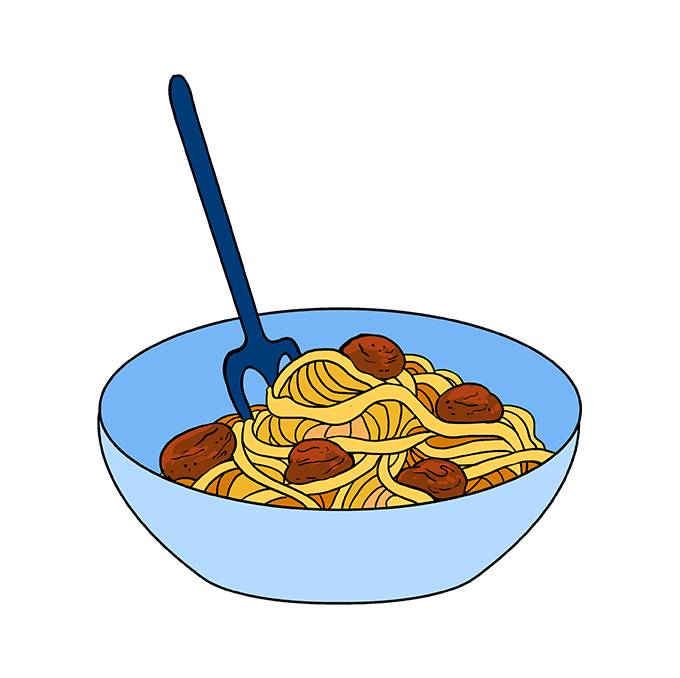 How To Draw Spaghetti Really Easy Drawing Tutorial Drawing Tutorial Easy Easy Drawings Drawing Tutorial