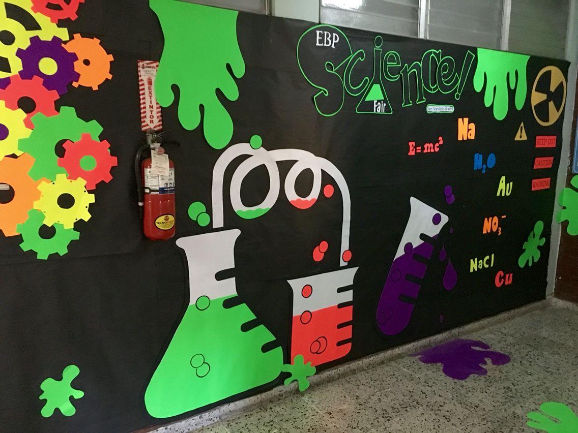 Science Fair Board Decoration Ideas
