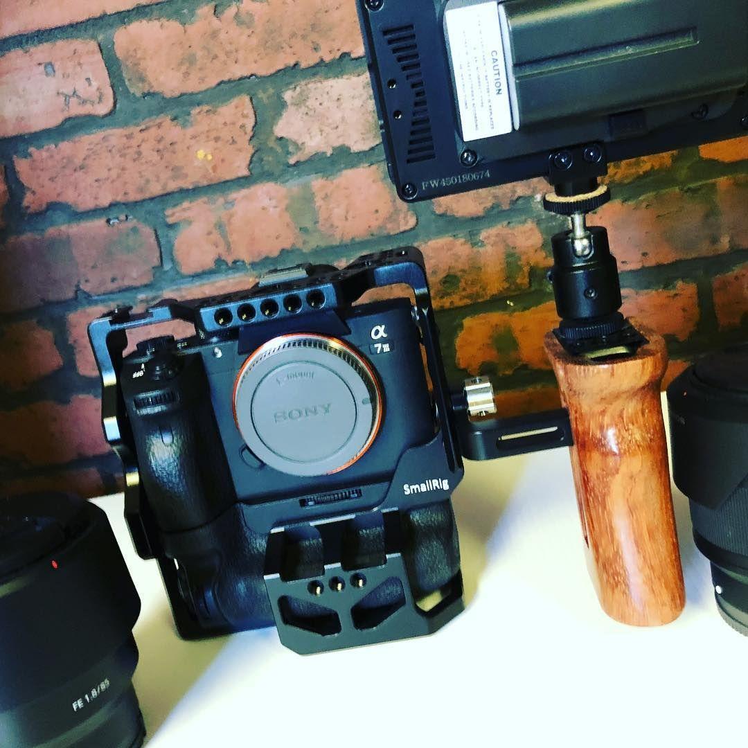 Cage for Sony A7RIII/A7M3/A7III with VG-C3EM Vertical Grip