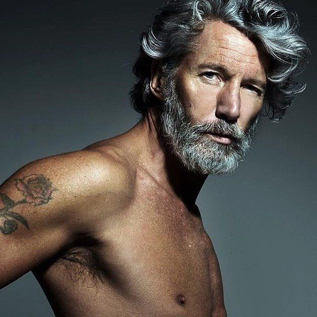 Magnificent 20 Shades Of Hot Gray Haired Guys Sexy Grey And Instagram Hairstyles For Men Maxibearus