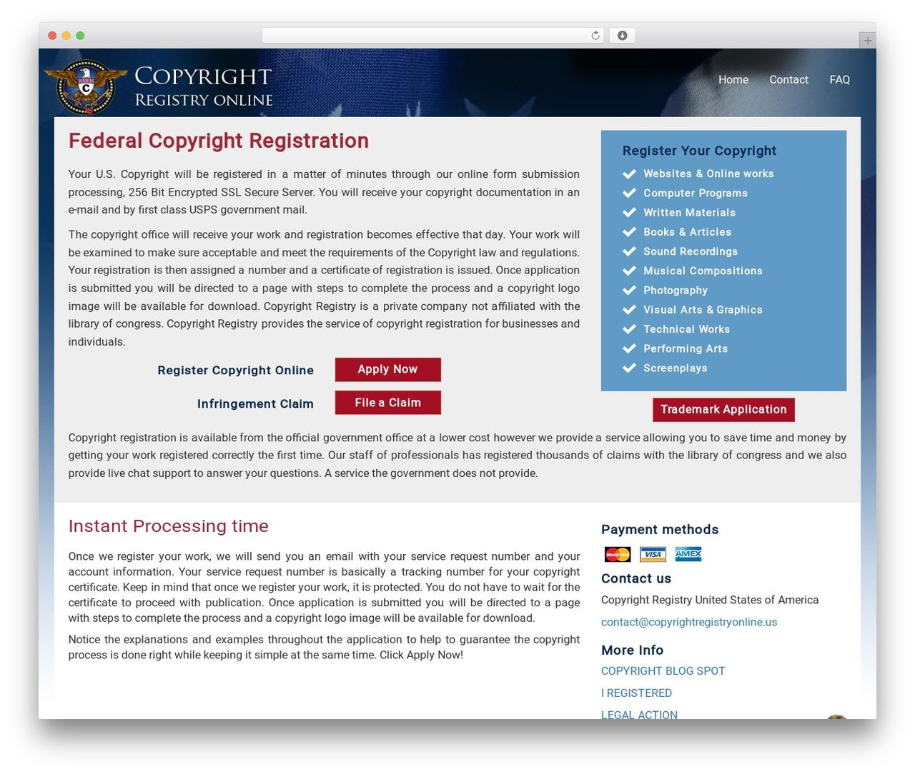 Copyright Wordpress Theme Copyrightregistry Online Form Com Wordpress Wordpress Theme Online
