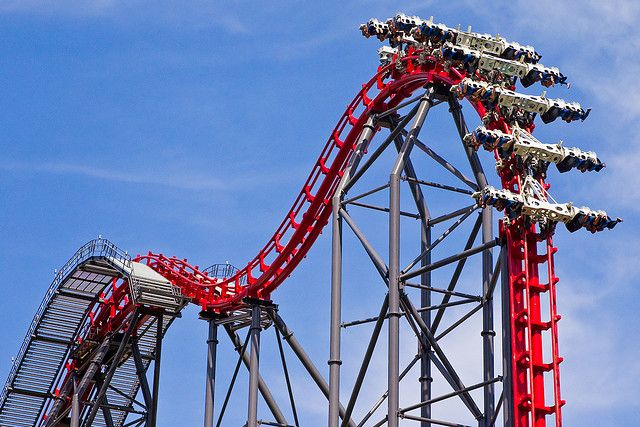 Rollers Coasters X2 Six Flags Magic Mountain California Usa Crazy Roller Coaster Scary Roller Coasters Roller Coaster
