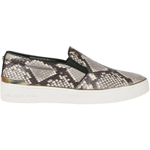 Michael Kors Snakeskin Slip-on Sneakers
