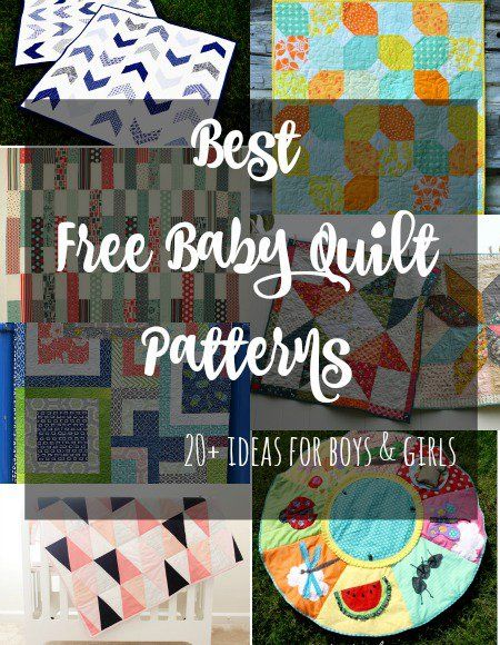 The Best Free Baby Quilt Patterns Free Baby Quilt Patterns Baby Mesmerizing Free Baby Quilt Patterns For Beginners