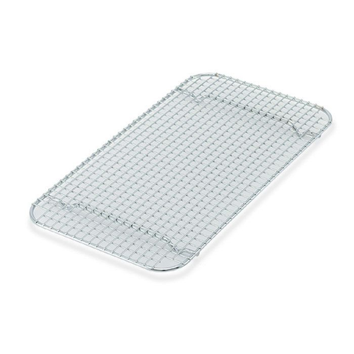 Vollrath 20038 Super Pan V 16 1 2 X 24 Footed Stainless Steel Cooling Rack For Full Size Bun Sheet Pan Stainless Steel Wire Sheet Pan Steam Table Pans