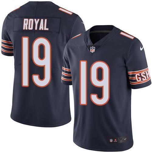 Nike Bears 19 Eddie Royal Navy Blue Men S Stitched Nfl Limited Rush Jersey Nfl Jerseys For Sale Nfl Jerseys Chicago Bears