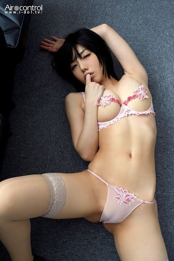 Asian hose in pantie woman