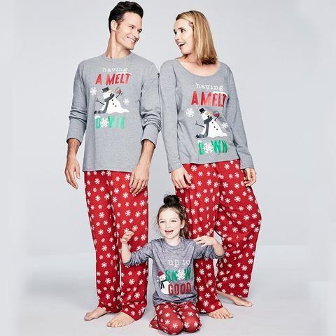 Family Matching Premium Christmas Pijamas Set Christmas Pijamas