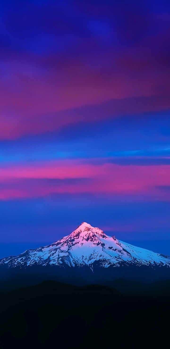 S8, s9, wallpaper, sky, backgrounds, nature, tranquil, blue, purple, mountains, galaxy, Samsung ...