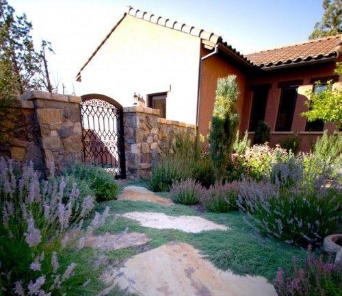 High Desert Tuscan Mediterranean Landscape Tuscan