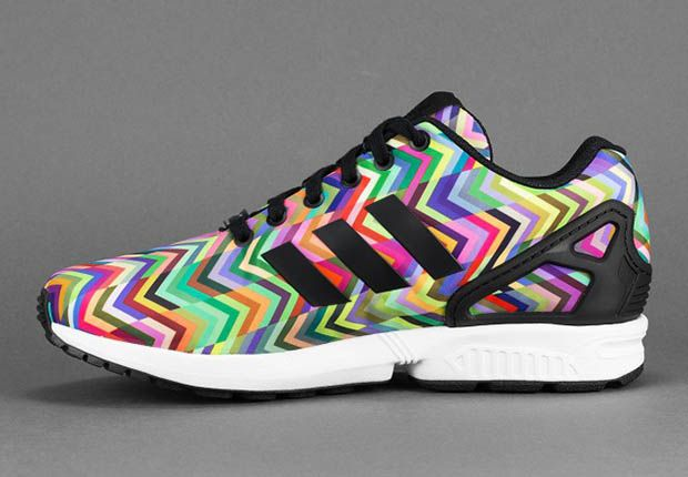 buy popular fae3e 74e01 adidas-zx-flux-multicolor-chevron-2