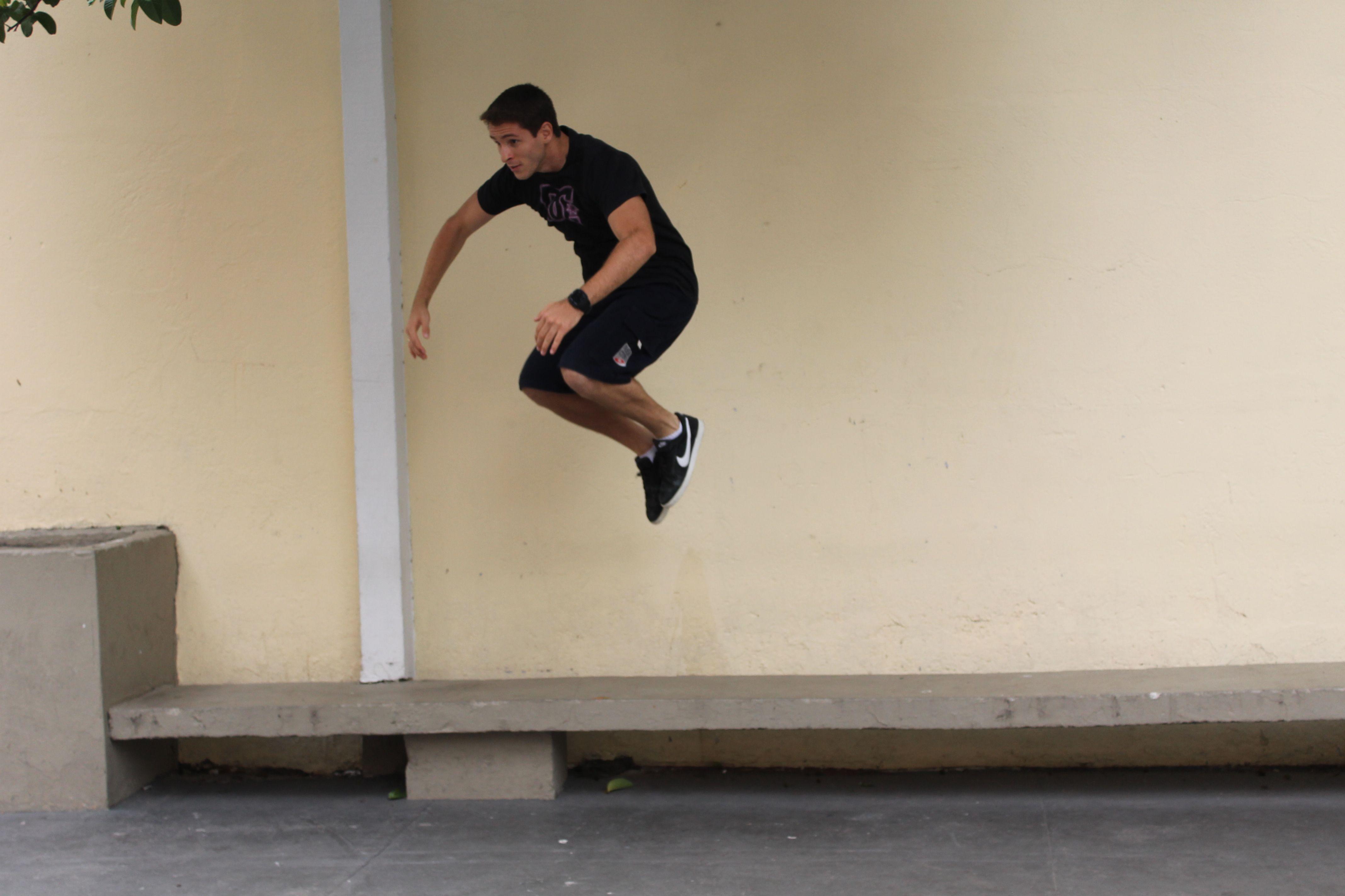 Vamos pular.