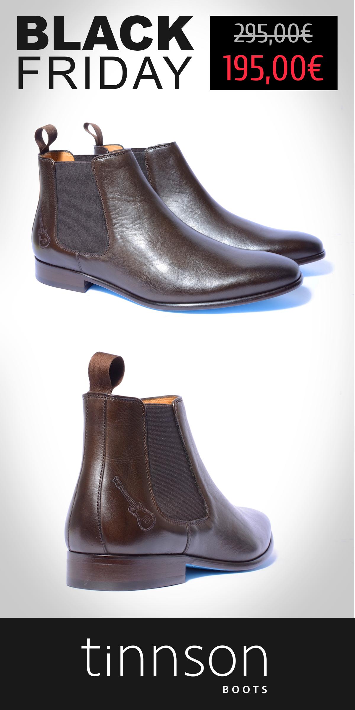 97d08d0dcd271 -100€  BLACKFRIDAY 🔥 Chaussures Chelsea Boots en cuir pour Homme ⚡ Marque