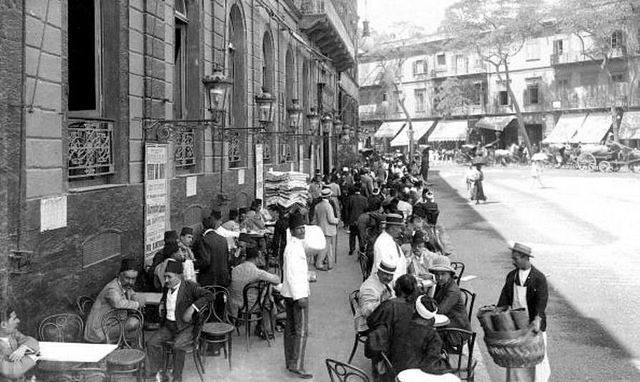 Image result for tahrir square cairo cafe