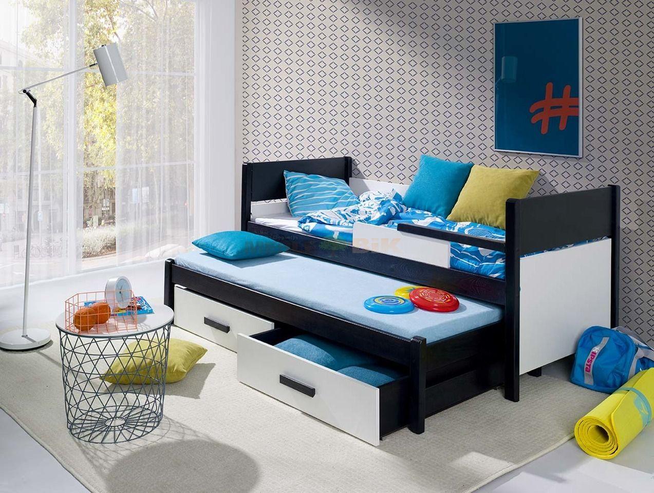 łóżko Piętrowe Niskie 2 Osobowe Do Pokoju Młodzieżowego