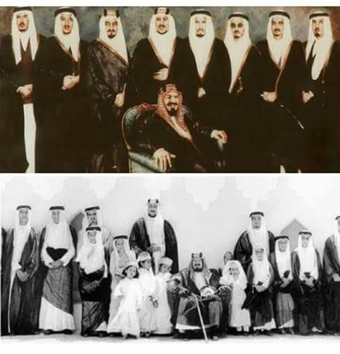 الملك عبد العزيز آل سعود مؤسس الدولة السعودية الحديثة تزوج 41