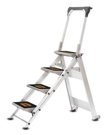 Little Giant 10410b Stepladder Aluminum 3 Ft H 300 Lb Cap Step Ladders Little Giants Ladder