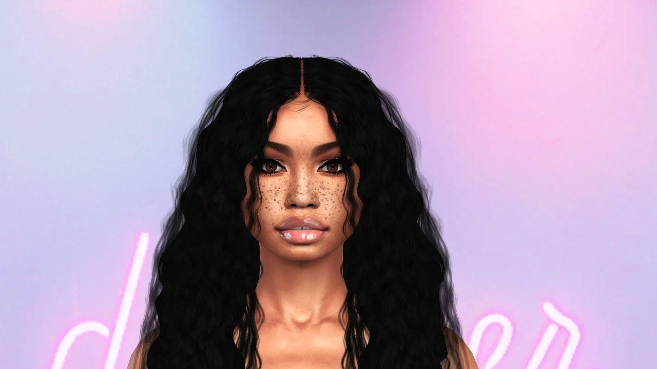 The Sims 9   SIM DOWNLOAD LANA + CC FOLDER   YouTube   Sims hair ...