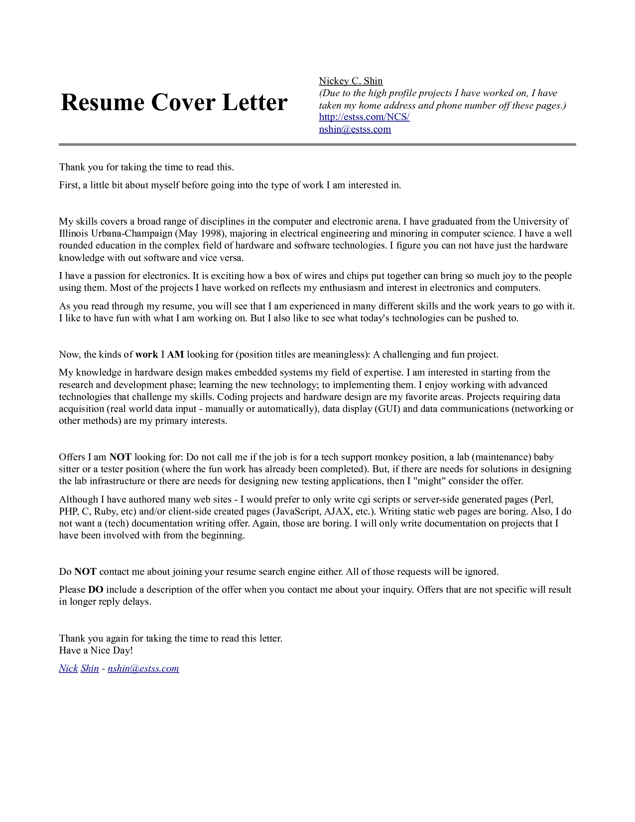 Cover letter for quality engineer position omoalata cover madrichimfo Gallery