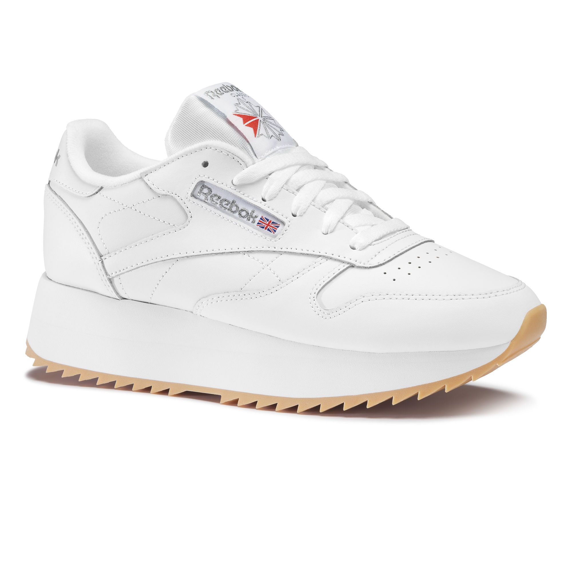 Reebok Classic Leather Double Blanc Reebok Frankrig  Reebok France
