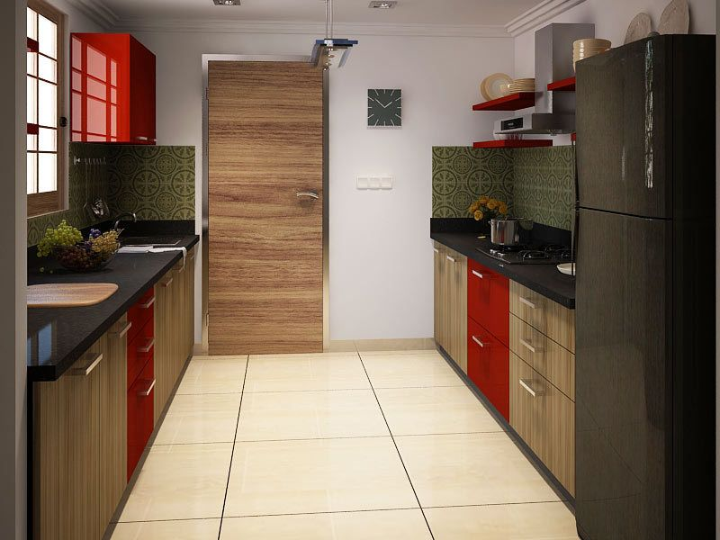 Amante Parallel Modular Kitchen Modularkitchendesign