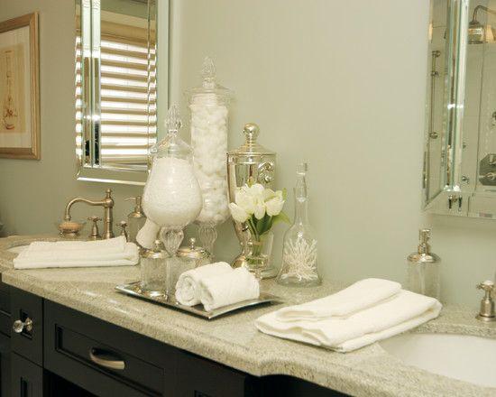 Bathroom Vanity Jars bathroom glass jars design, pictures, remodel, decor and ideas