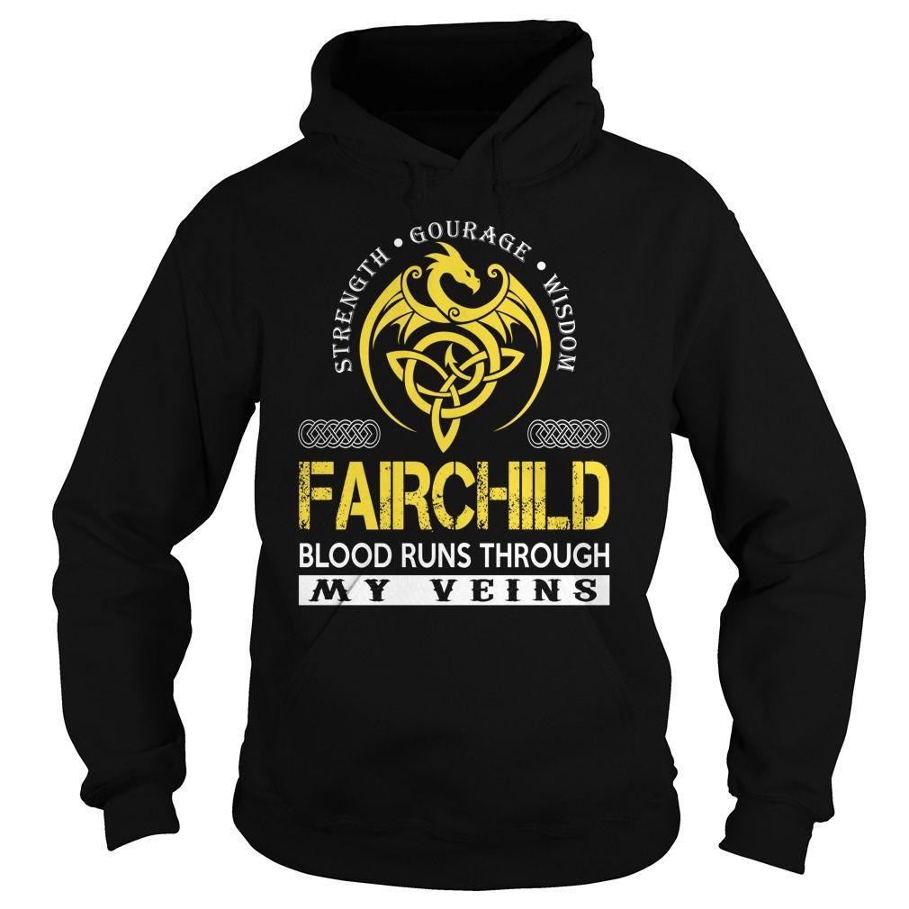 [Hot tshirt name tags] FAIRCHILD Blood Runs Through My Veins Dragon Last Name Surname T-Shirt Discount Today Hoodies, Funny Tee Shirts