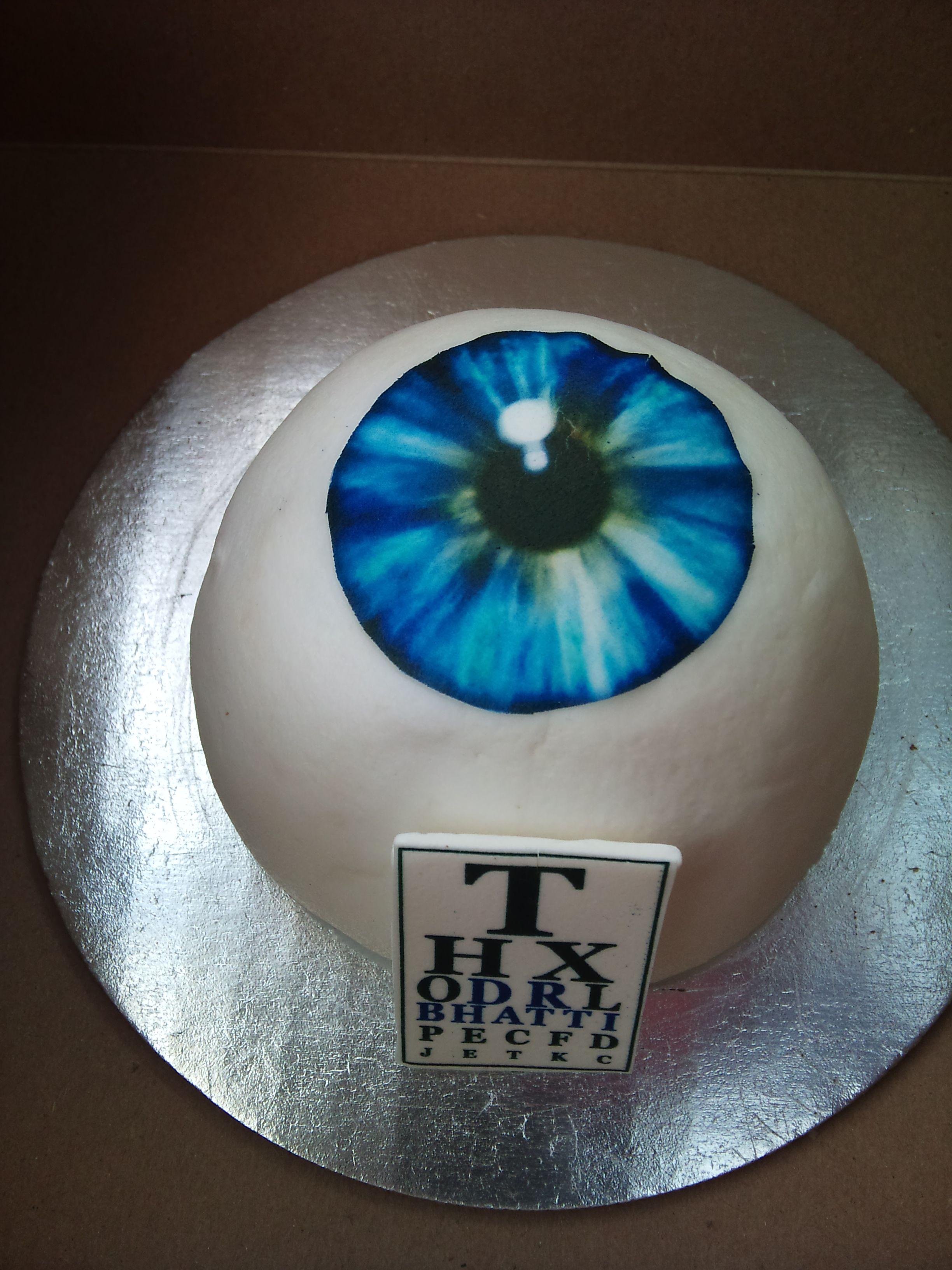 Eye See You Cake Fast Food Fashion Frames Cake