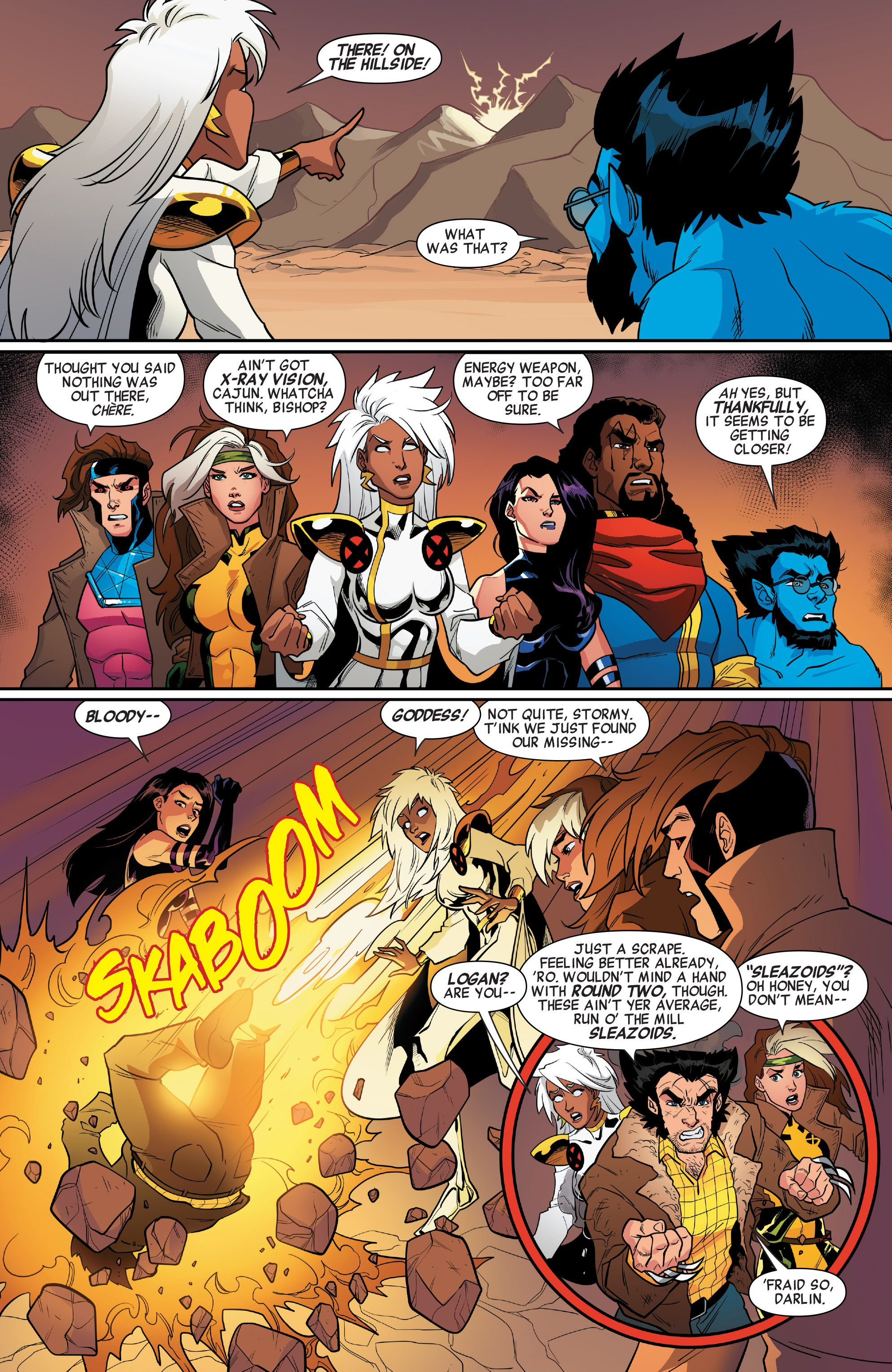 X Men 92 2016 Issue 7 Read X Men 92 2016 Issue 7 Comic Online In High Quality Comics Comics Online X Men