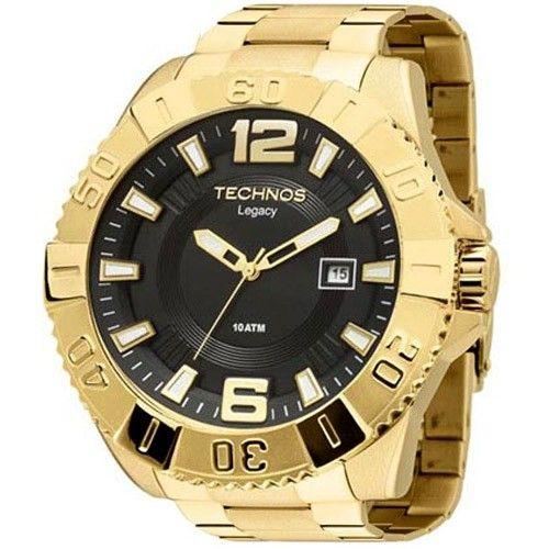 22f3dff0ad7  Walmart  Relógio Technos Masculino Analógico Classic Legacy - Dourado -  R 559