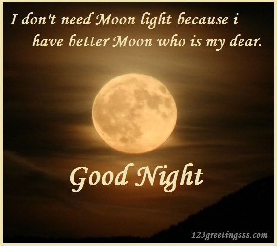 Inspirational Love Messages For Girlfriend: Good Night Pic For Girlfriend