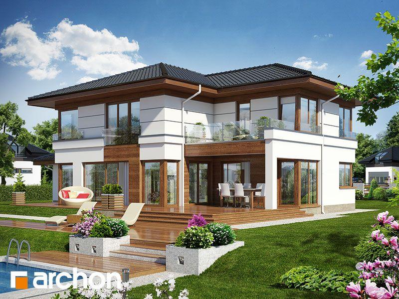 Projekt Domu Jednorodzinnego Willa Weronika 3 Ver 2 Moj Dom