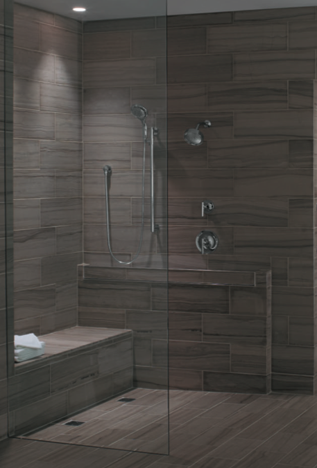 Universal Design Shower From Builder Fish. Prepare To Age In Place When  Buildingu2026