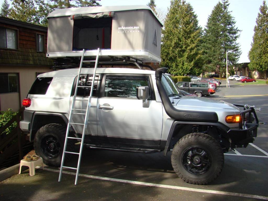 asian,bumpers,exterior,fj cruiser,nerf bars,roof racks,suv,snorkel