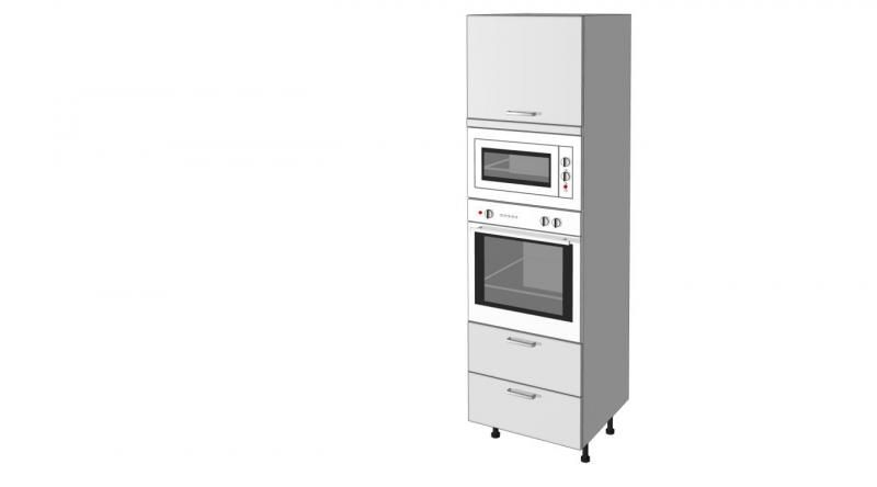 redoutable meuble de cuisine pour four et micro onde | décoration