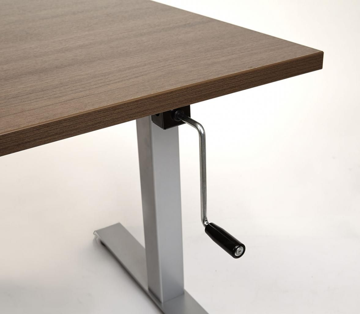 hand crank standing desk standing desk with handcrank adjustment smart and frugal frugal